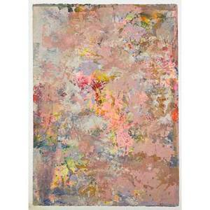 Sam gilliam american b 1933 untitled 1971 screenprint in colors framed signed and dated 25 14 x 18 sheet