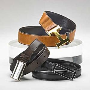 Three ladies belts hermes mark cross jaeger hermes france mini constance natural calf reverses to dark brown impressed 70 i marked jaeger italy black kidskin with silver tone buckle siz