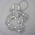 Anni albers design eye hook and pearl necklace limited production 19992000 muse des arts dcoratifs paris in box