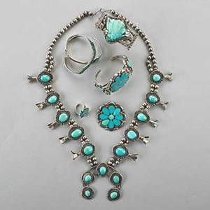 Native american silver turquoise jewelry l begay squash blossom necklace 25 naja 2 12 navajo cuff with shell carved turquoise zuni petit point cuff geometric inlaid cuff three piece floral