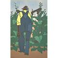 Robert gwathmey american 19031988 two works of art topping tobacco 1947 screenprint in colors framed signed 12 34 x 8 12 sight tobacco farmers 1947 screenprint in colors framed