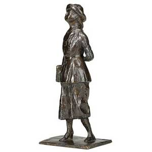 Edgar degas french 18341917 lecoliere bronze cast in 1998 inscribed degas dated numbered 74vlllx with foundry stamp cire perdue c valsuani 11 38 high provenance private collecti