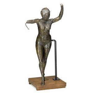 Edgar degas french 18341917 danseuse savanant les bras levs la jambe droite en avant bronze cast in 1998 inscribed degas dated numbered 72d with foundry stamp cire perdue c valsuan