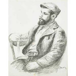 Pierreauguste renoir french 18411919 louis valtat from douze lithographies originales de pierreauguste renoir ca 1904 lithograph framed signed in the plate from an edition of 950 13 x