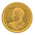 Lewis and clark exposition 1 gold coin 1904 ef 40