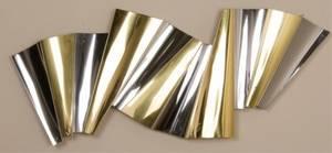 Curtis Jere Signed Brass  Chrome Sculpture