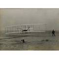 Orville wright autograph on a photograph of the kitty hawk in flight dated september 24 1925 framed 6 x 8 12 sight