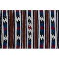 Tribal eight weavings 20th c largest 58 x 30 12