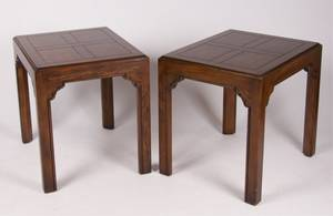 Henredon Four Centuries Side Tables Pair