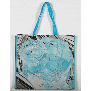 Jeff koons american b 1955 ink drawing on hugo boss for bloomingdales shopping bag 2012 signed and dated 17 12 x 19 flat