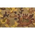 Hisham baroocha american b japan 1976 mixed media collage on paper brown cat framed 8 38 x 14 sheet