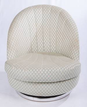 Milo Baughman for Thayer Coggin Swivel Chair