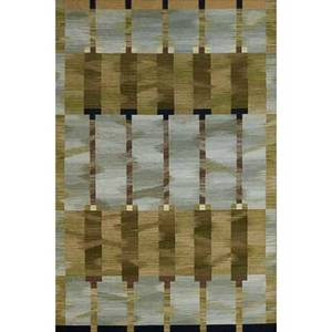 David shaw nicholls amalfi woven area rug superfine knotted flatweave wool manufacturer label edition 15 9 1 x 6 2