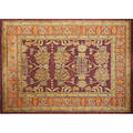 Safavieh bergama collection william morrisinspired roomsized wool rug india 1990s labeled 144 x 108