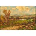 Daniel folger bigalow american 18231910 oil on canvas landscape framed signed 8 18 x 12