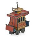 Toonerville tin trolley windup mechanism with copyright by fontaine fox 1922 5 14