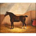 James clark  son british fl 18581909 oil on canvas portrait of horse reality framed signed 20 x 24