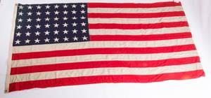 HandStitched US 48 Star Flag