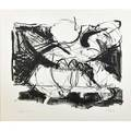 Jeffrey plate american 20th c three works on paper two untitled lithographs 1973 both signed dated and numbered ap untitled etching 1974 signed and dated largest 20 34 x 20 78 she