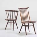 George nakashima nakashima studios new chair new hope pa walnut 1950s unmarked together with straight back chair george nakashima for knoll new chair 36 18 12 x 23 straight back 29
