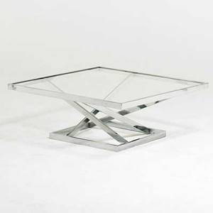 Milo baughman thayer coggin coffee table high point nc 1970s chromed steel glass unmarked 15 x 37 12 sq