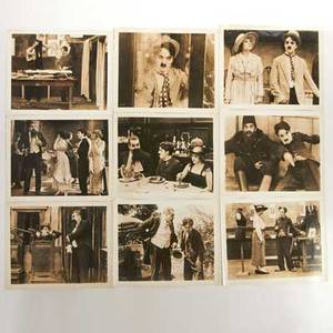 Charlie chaplin forty black and white movie stills earlymid 20th c unmarked 8 x 10