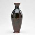 Edward abel rookwood tiger eye glaze vase cincinnati oh 1894 flame mark562rartists cipher 9 14 x 3 12 dia