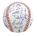 2011 new york yankees autographed baseball signed by twentysix players including derek jeter alex rodriguez and robinson cano james spence authentication