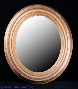 M 19th C Gilt Frame Mirror