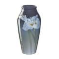 Carl schmidt 1875  1959 rookwood large iris glaze vase with irises cincinnati oh 1903 flame markiii925bartists initials 12 12 x 6 14