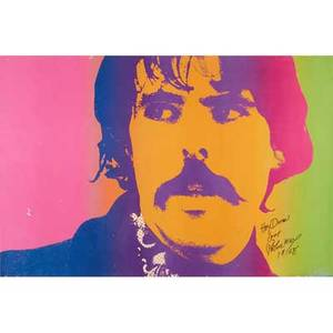 Peter max american b 1937 lithograph in colors portrait of peter max 1968 signed and dated together with four offset lithographs largest 24 x 36 sheet