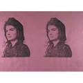 Andy warhol american 19281987 screenprint jackie ii 1966 framed proof aside from edition 27 12 x 39 sheet