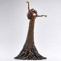 Heidi kujat celebration tree goddess bronze sculpture new mexico second half 20th c unmarked 21 x 12 12 dia