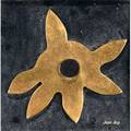 Jean arp french18861966 brass gilt sculpture in display box etoile stamped and numbered 61300 8 18 x 8 18