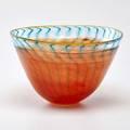 Kjell engman kosta boda flaring glass bowl sweden late20th c signed 59062 7 x 11 dia