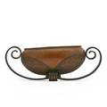 Coardere art deco center bowl france 1920s hammered copper forged iron stamped coardere 7 x 20 x 8