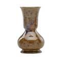George ohr tall baluster vase brown mottled glaze biloxi ms 18801910 incised ohr biloxi 7 x 4