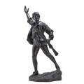 Paulfrancois choppin french 18561937 bronze sculpture un volontaire de 1792  signed 35 34