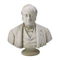 English marble bust depicting a statesman 19th c 26