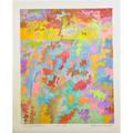 George morrison american 19192000 surrealist landscape 199096 lithograph in colors signed dated titled and numbered ctp 1422 20 34 x 17 38 sheet provenance vermillion limited e
