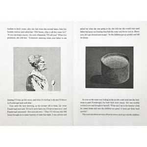 David hockney british b 1937 illustrations for five fairy tales from the brothers grimm 1969 33 etchings each portfolio signed and numbered ap ivxv 17 34 x 12 14 sheet each portfoli