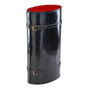 Jacques adnet attr umbrella stand
