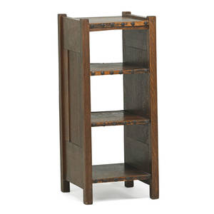 Gustav stickley early magazine stand