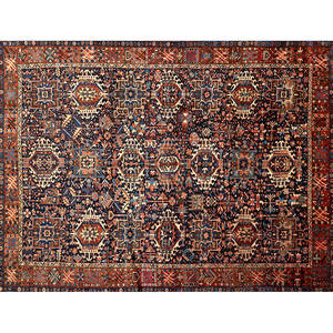 Persian karajeh handknotted carpet ca 1960