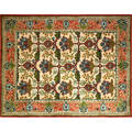 Arts  crafts style handknotted carpet