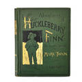 Huckleberry finn first edition mark twain first printing 1884 copyright1885 publication the heading for chapter 6 on the first contents page reads decided later corrected to decides him a