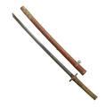 Japanese gunto katana gunome midare hamon unknown gimei blade 26
