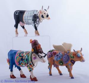 Cow Parade Collection Set of Three 3
