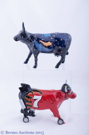 Cow Parade Collection Pair 2