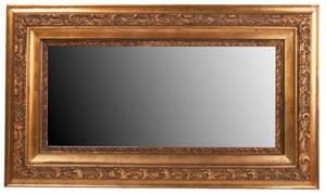 Vintage Italian Gilded Mirror w Seashell Motif